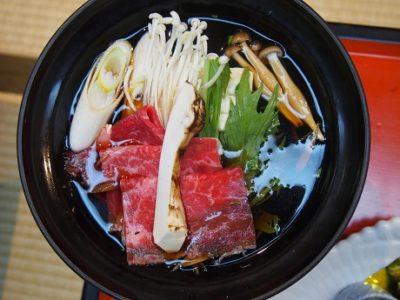 松茸(外国産)4品付プランは11月10日迄でございます。